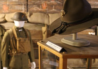 military hat and uniform world war one