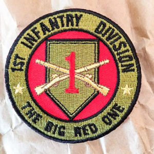 1st Infantry Division Big Red 1 patch