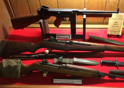 guns used in korean war