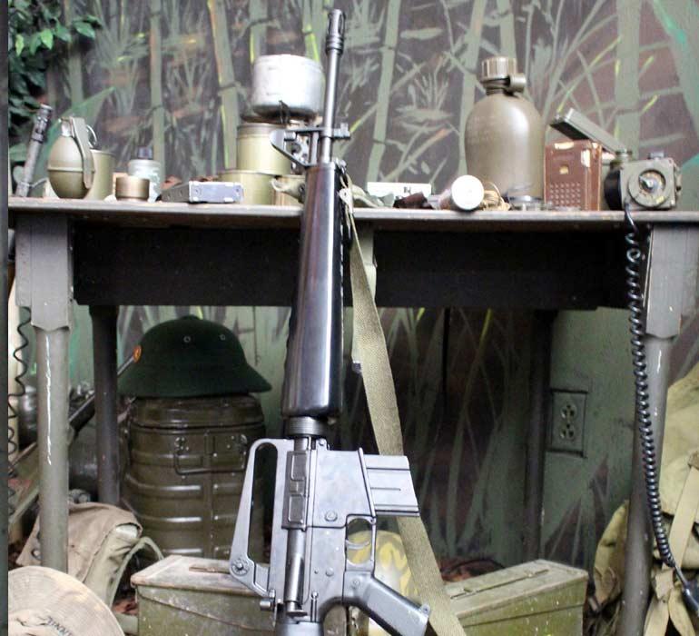 weapons used in vietnam war