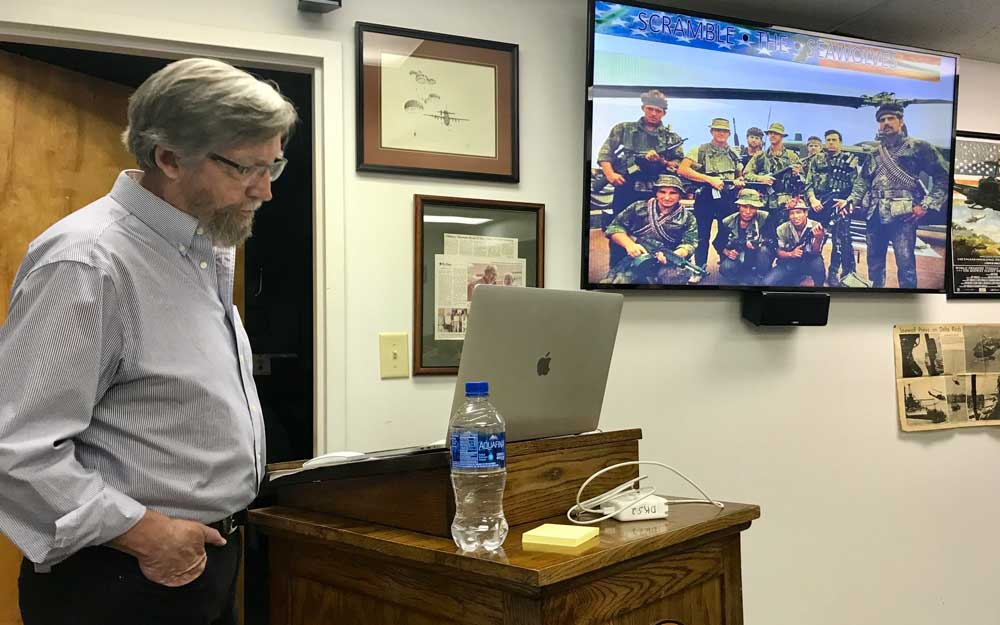 David Smale's lecture draws large crowd