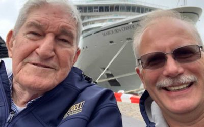 D-Day Veteran George Sarros revisits Normandy after 75 years
