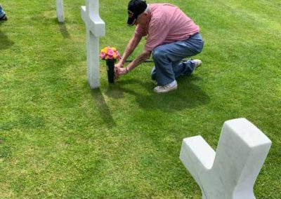 George-Sarros-at-the-American-Cemetery-in-Flanders-Field-1