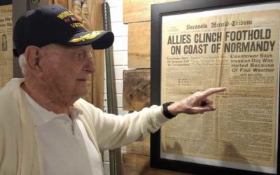 Veterans History Museum Partners with AccuWeather for D-Day Documentary