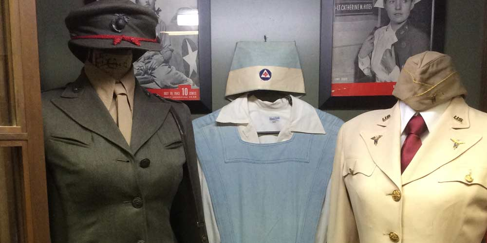 """Women in the Military"" Exhibit"