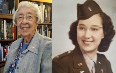 WWII Army Nurse Dorothy Managan on Channel 13 tonight!