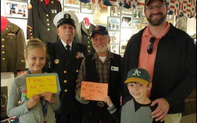 Kids Honor Veterans