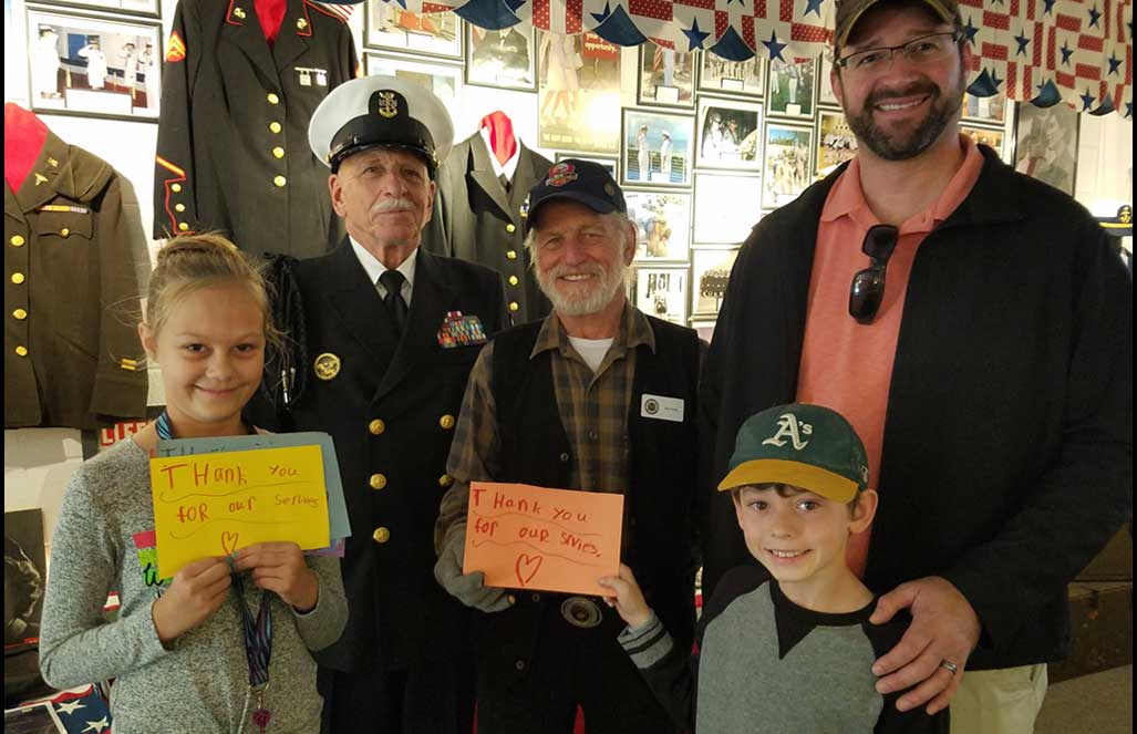 Kids Honor Veterans