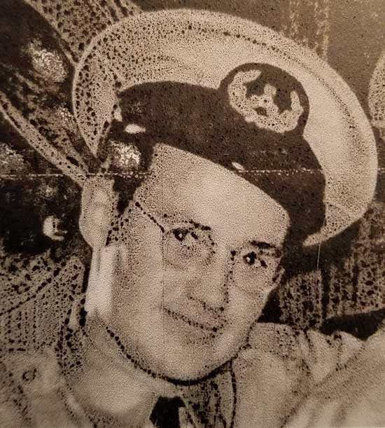 merchant marine with hat uniform