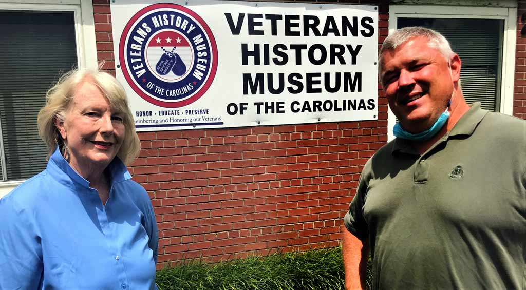 The Veterans History Museum of the Carolinas receives $10,000 grant