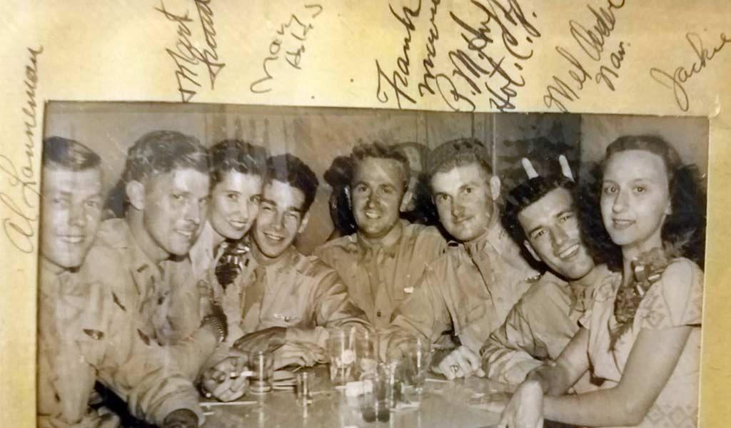 Sandy Groendyke B-17 Bomber pilot WWII story. German Prison Camp Survivor
