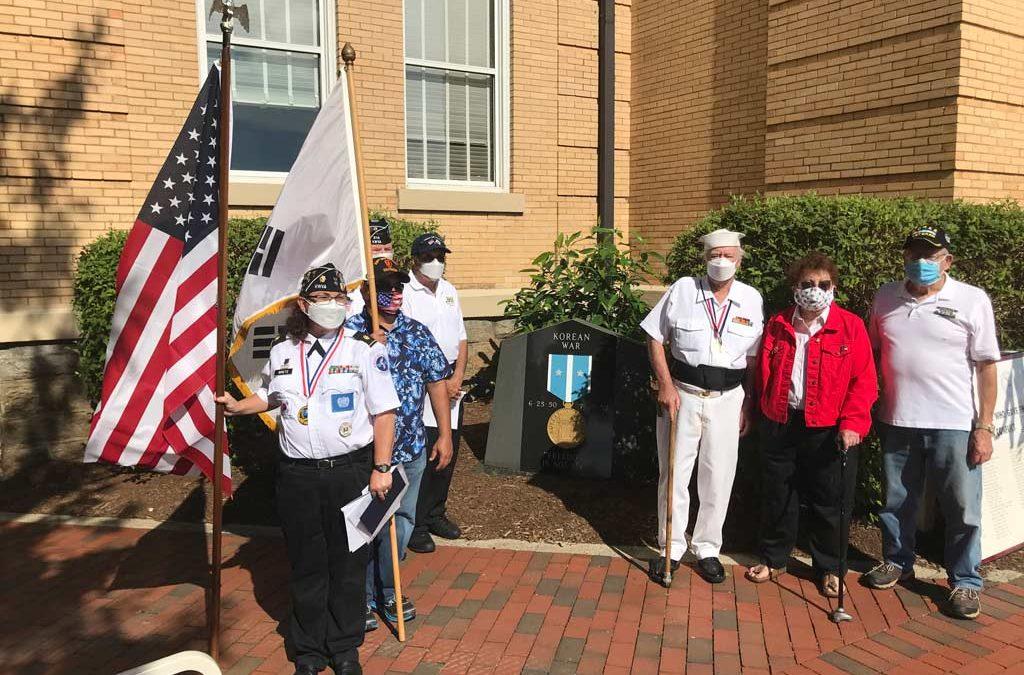 korean war veterans next monument
