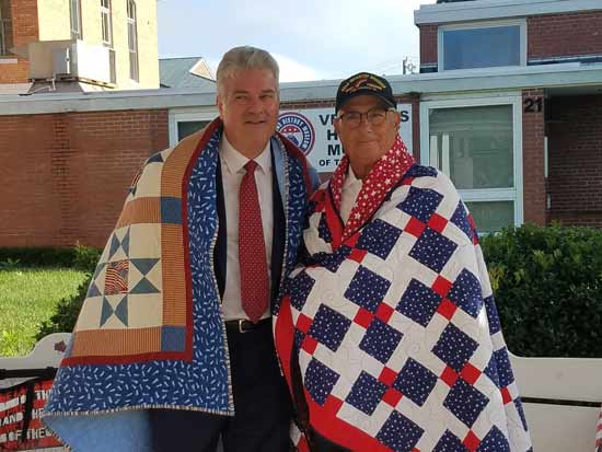 Mayor Jimmy Harris and General Joe Taluto