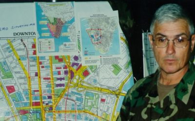 A retired U.S. Army general remembers being at Ground Zero just hours after 9/11 attack
