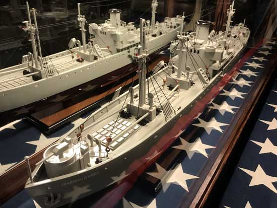 Merchant Marine Liberty ship SS Jeremiah O'Brien
