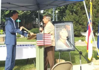 veterans history museum award ceremony