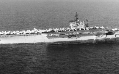 Choreography on Deck USS Kitty Hawk