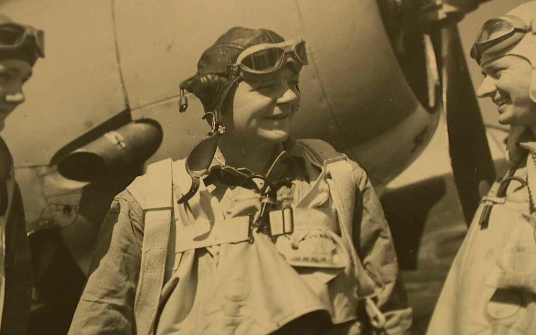 Gil Mays flies the TBF Avenger