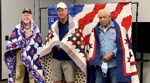 US Air Force Quilts of Valor